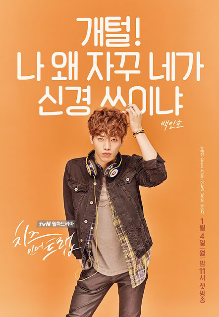 Park Hae Jin and Kim Go Eun Cheese In The Trap Posters are Out