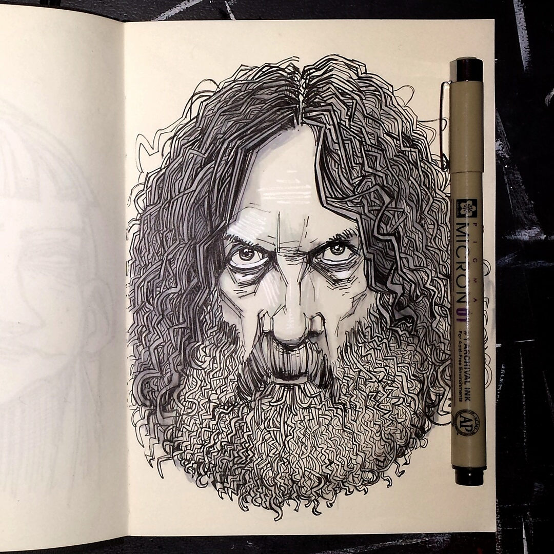 alan moore sketchbook picture