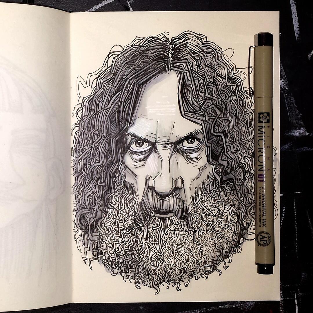 alan moore sketchbook picture