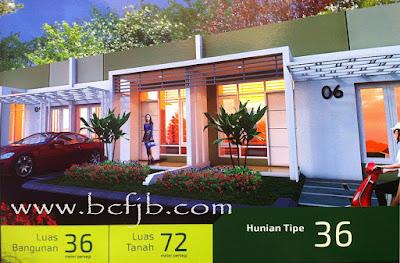 Rumah minimalis hunian terbaik tipe 36 dengan harga murah di kota batam