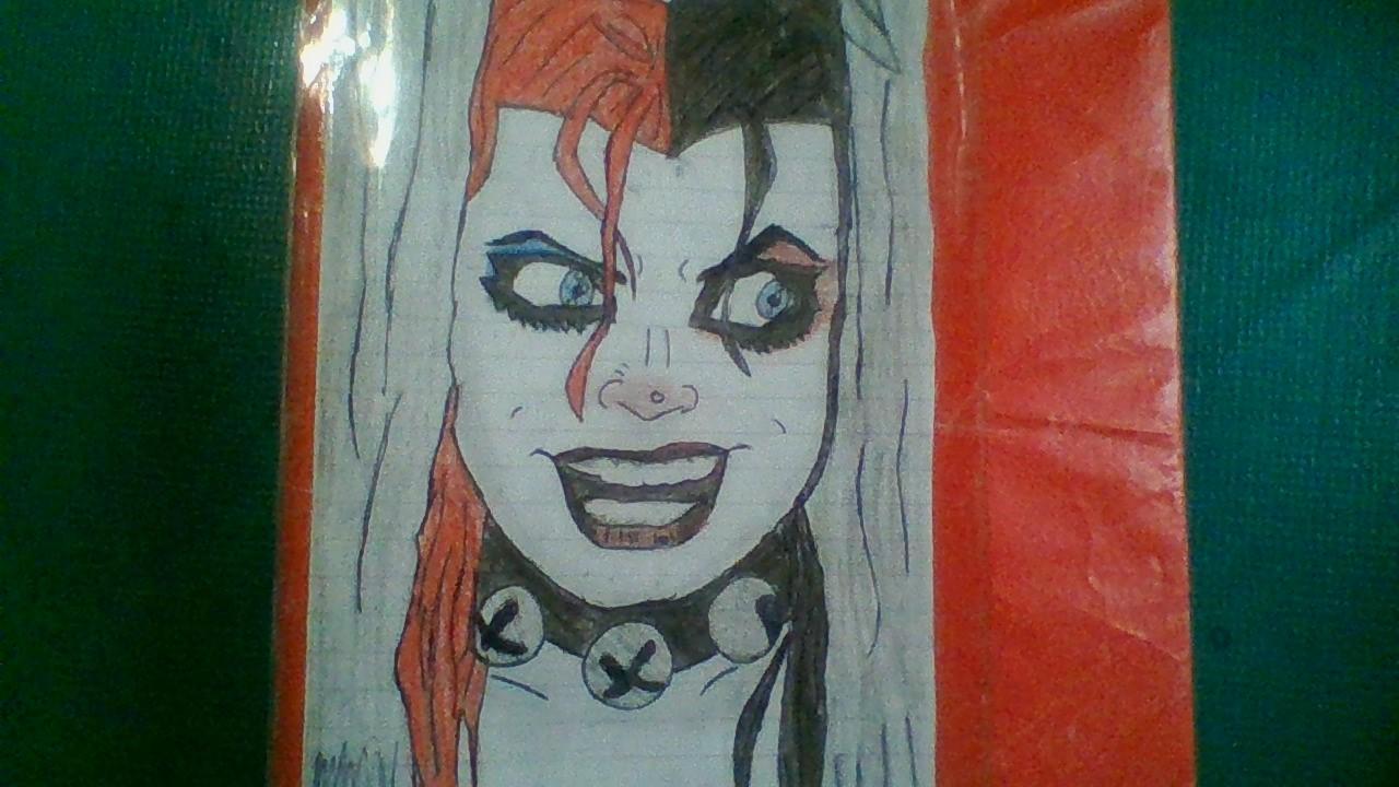 Dibujando a harley quinn trazos y garabatos for Harley quinn quien es