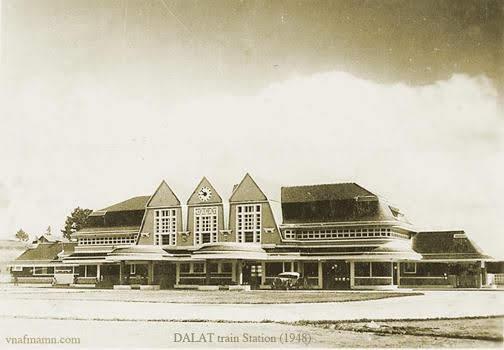 Hình ảnh nhà ga xe lửa Dalat.