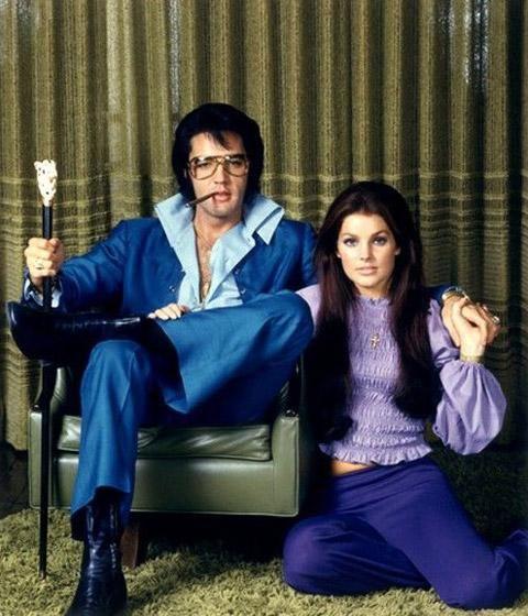 Priscila Presley e Elvis