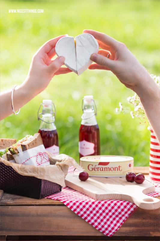 Géramont Werbung Herz aus Käse