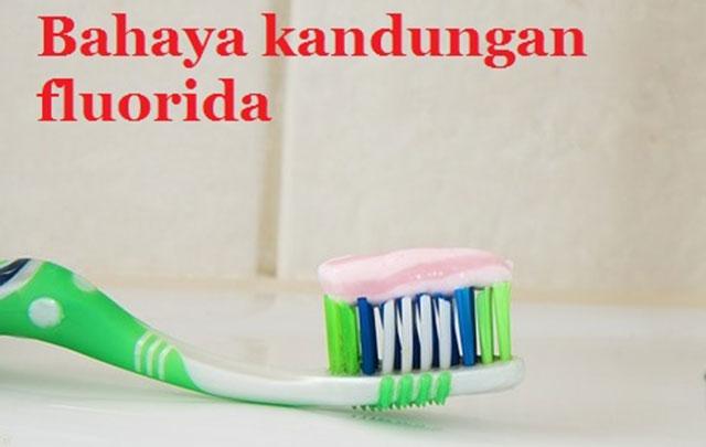 Penggunaan fluoride dalam pasta gigi