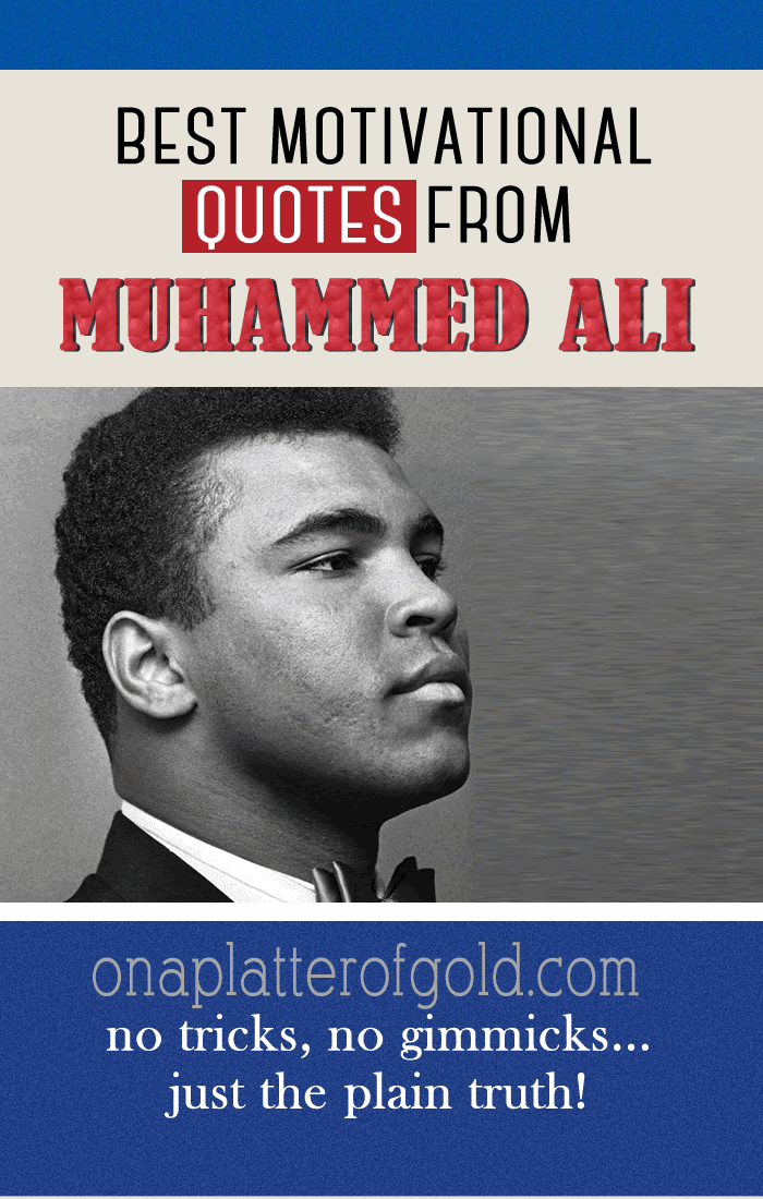 Best Motivational Quotes From Muhammad Ali