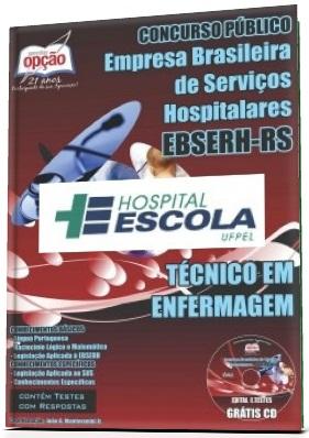 Apostila EBSERH/HE-UFPEL Técnico em Enfermagem