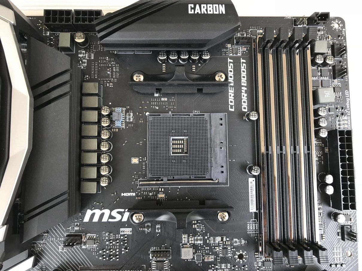 MSI X470 Gaming Pro Carbon AC Review ~ Computers and More | Reviews