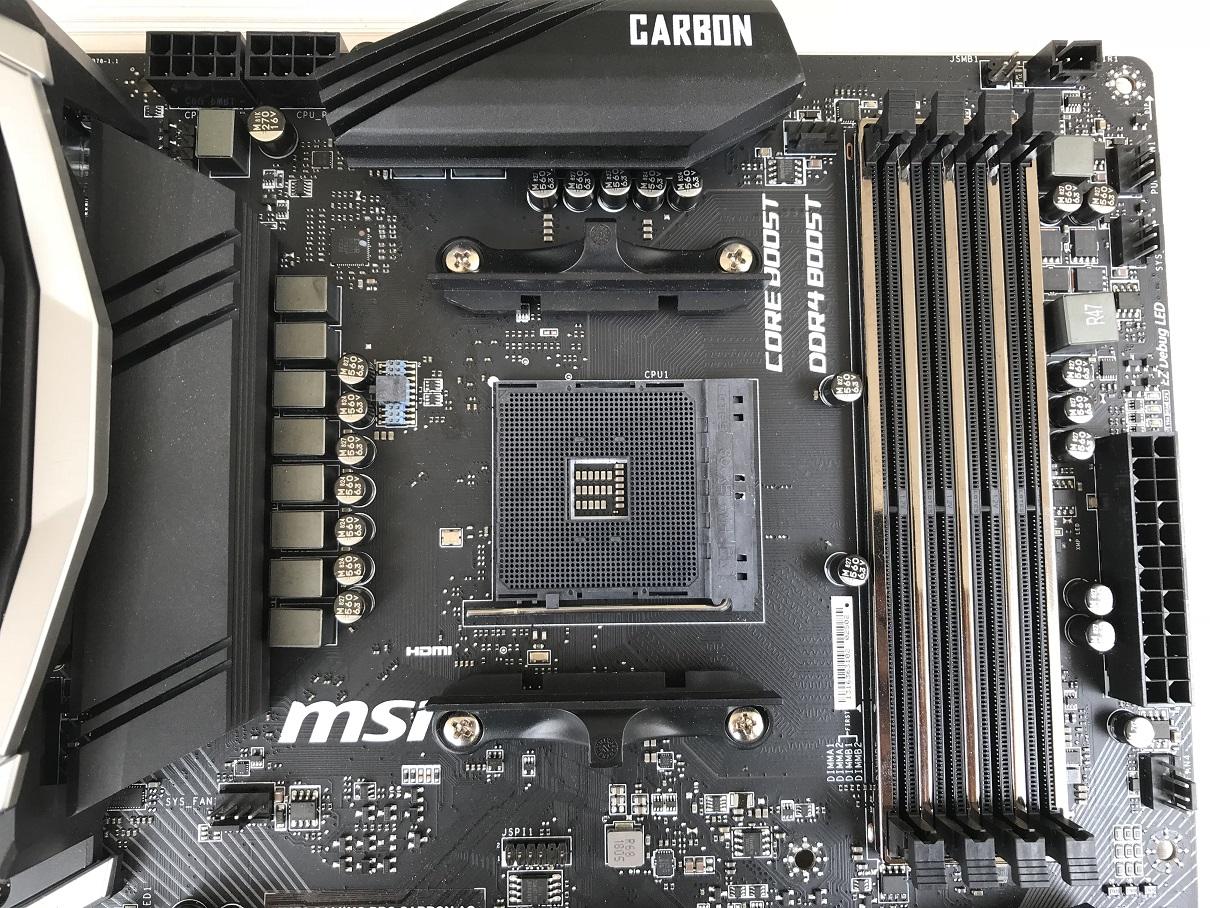 Msi X470 Not Booting
