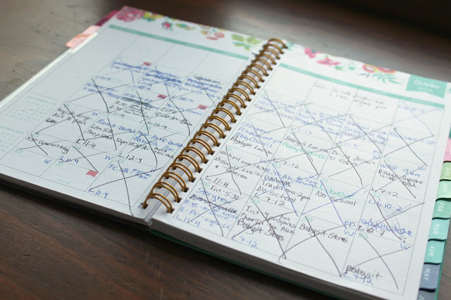 mom's day planner