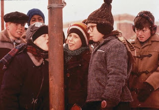 A Christmas Story tongue flagpole