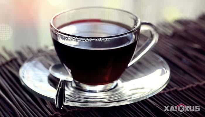 Minuman untuk diet alami dan cepat - Kopi hitam