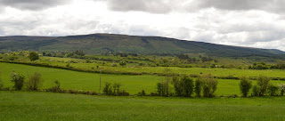 View of Ballinabehy mountain Leitrim