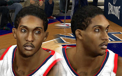 NBA 2K13 Louis Williams Cyberface Patch