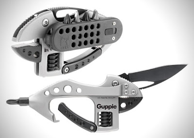 wearable tools for EDC, camping, hiking, survival, outdoors - CRKT Guppie Multi-Tool