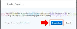 Cara Menyimpan File Di Dropbox | Cara Upload File Di Dropbox