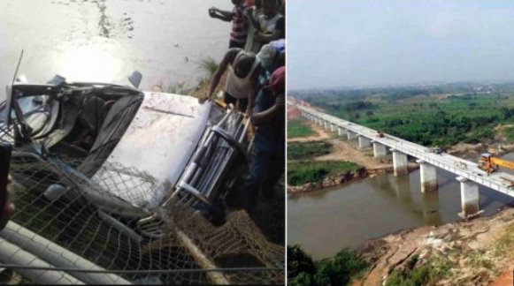 Mother Dies In Ghastly Accident  As Jeep Plunges Into River While Taking Her Child To School
