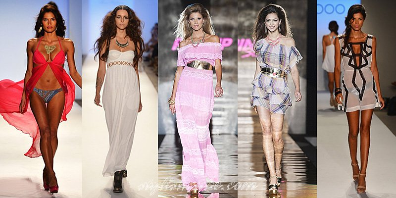 Spring Summer 2013 Fashion Beach Dresses Trends
