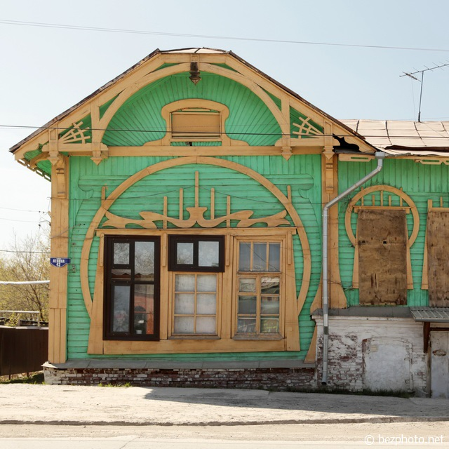 кунгур деревянный модерн