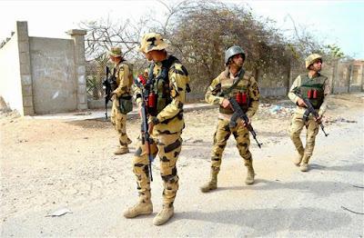 البيان السادس عشر للقوات المسلحة القضاء على 36 تكفيريا بالعملية الشاملة