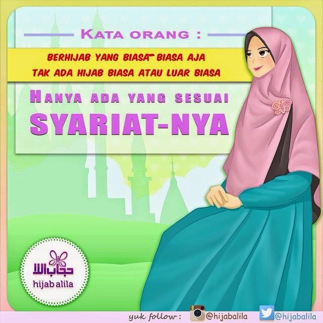 animasi kartun hijab alila