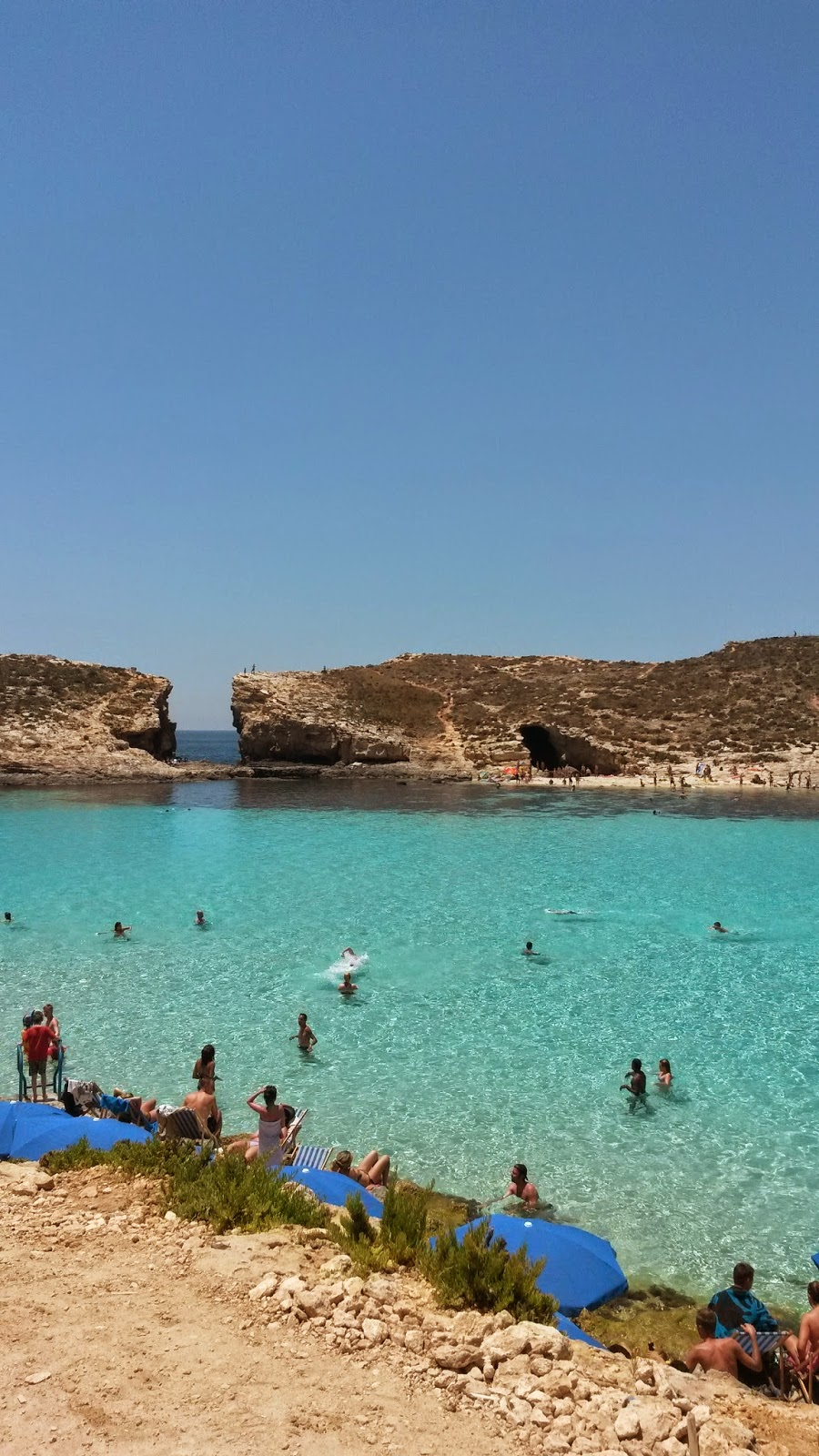 Blue Lagoon at Comino, Malta