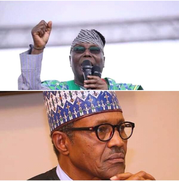 @OfficialPDPng Challenges @MBuhari to A One-on-One With @Atiku...Berates @NGRPresident for Abandoning His Troops