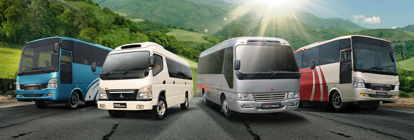 Mitsubishi New Colt Diesel Bus