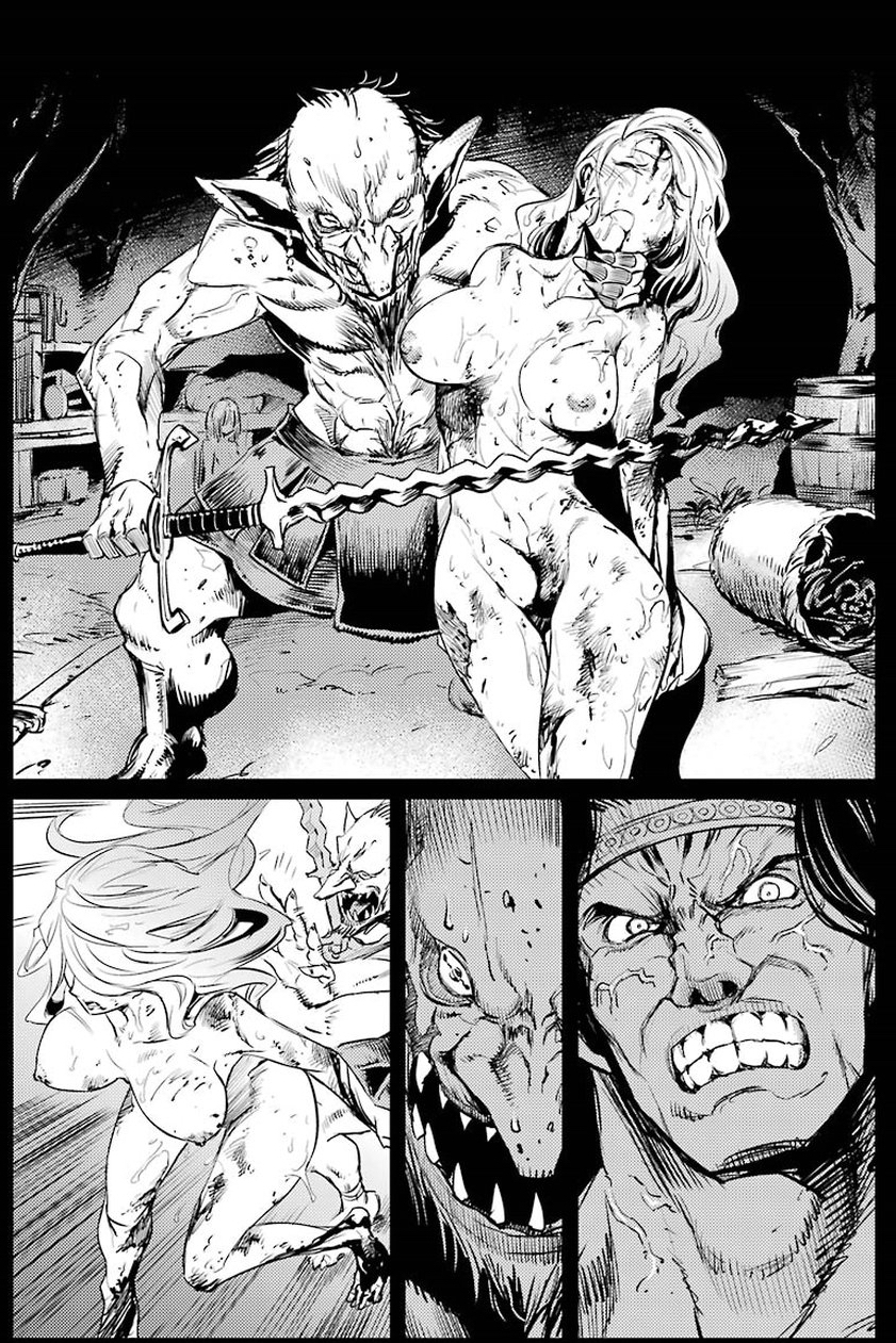 "Goblin Slayer: ""Rape & Gore"" sem limites!"