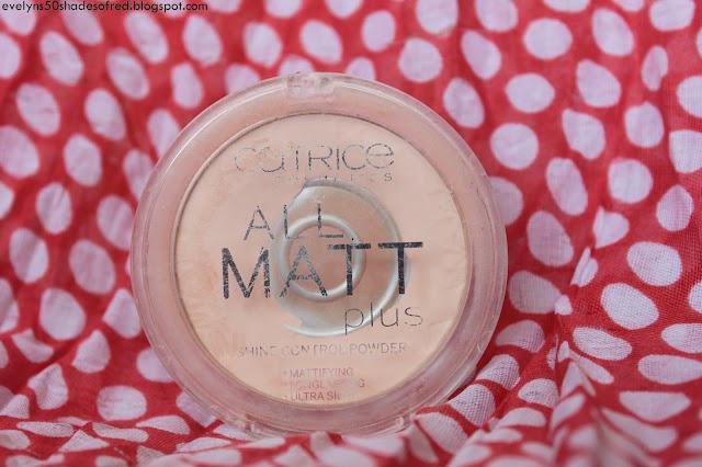 Catrice, All Matt Plus Shine Control Powder 010 Transparent