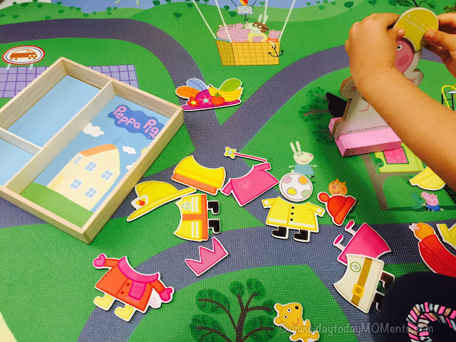 peppa pig magnet set