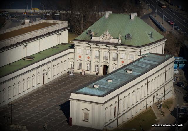 pałace Warszawa Warsaw Zamek Królewski muzeum Śródmieście