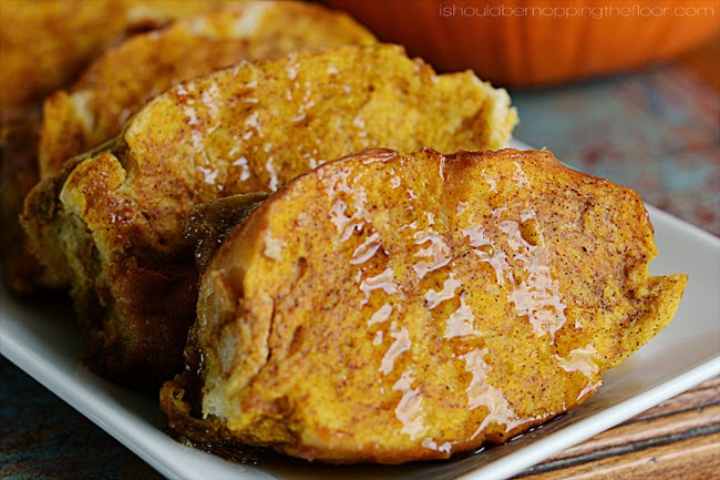 Overnight Baked Pumpkin French Toast: once you try this overnight French toast recipe, you'll always fix it. The bottom layer forms its own rich and delicious syrup.