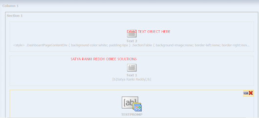 How To remove Box Shadow in OBIEE Dashboard