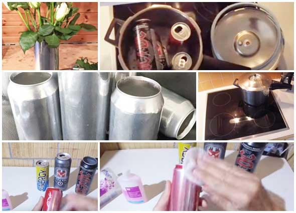 Tinta latas de refrescos. Como eliminarla completamente con truco casero