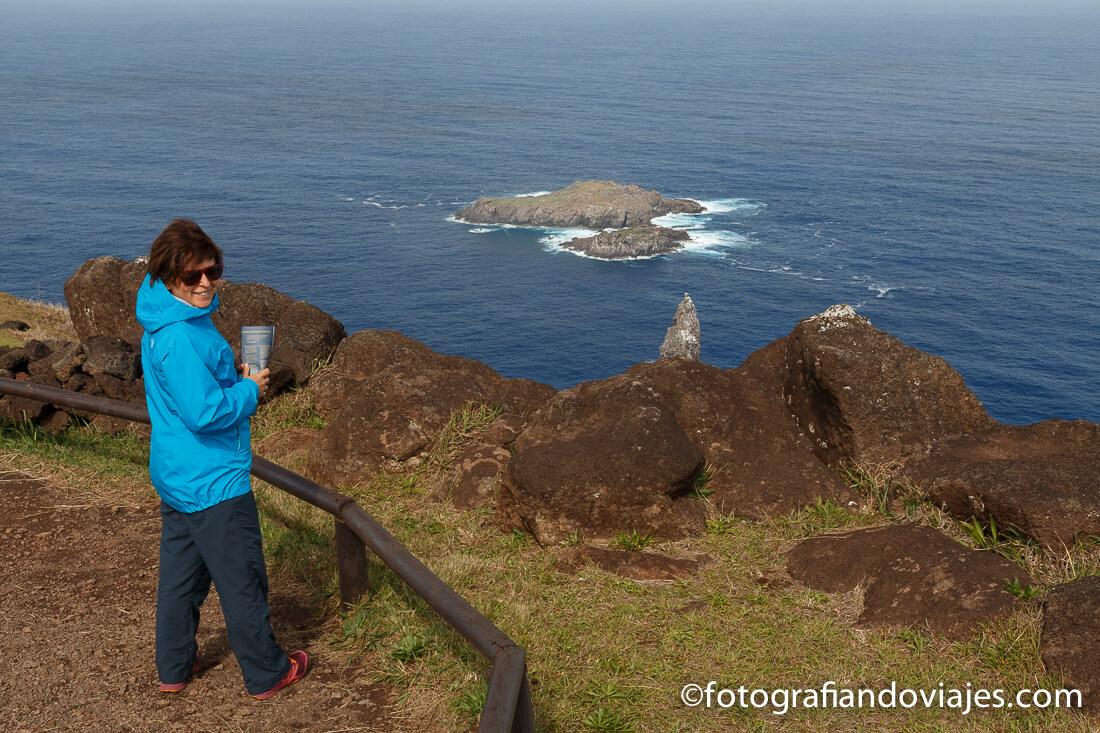 Ritual del hombre pájaro en Isla de Pascua