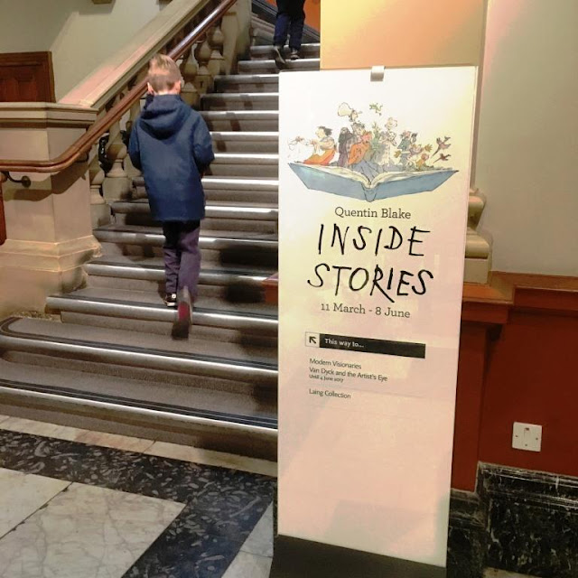 Quentin Blake: Inside Stories at the Laing Art Gallery in Newcastle