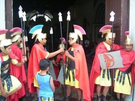 Soldados Romanos - Villa Nueva