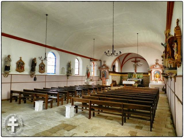NEUVILLE-LES-VAUCOULEURS (55) - Eglise Saint-Amand