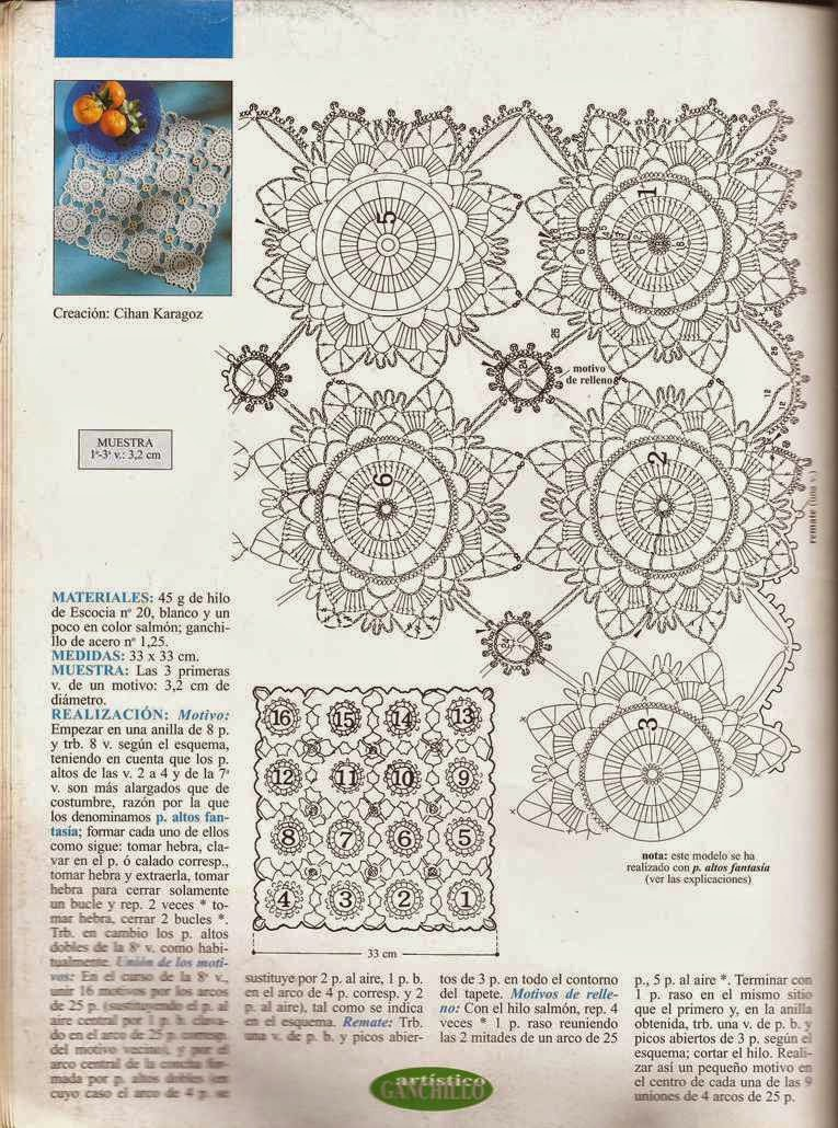 Patrón a Crochet