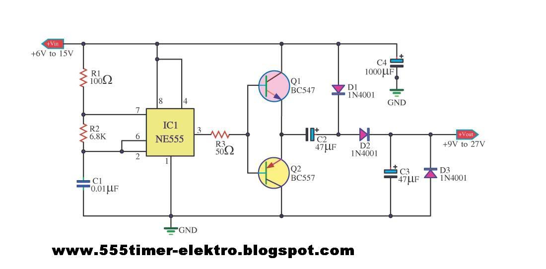 555 Timer Wiring Schematic Wiring Diagram