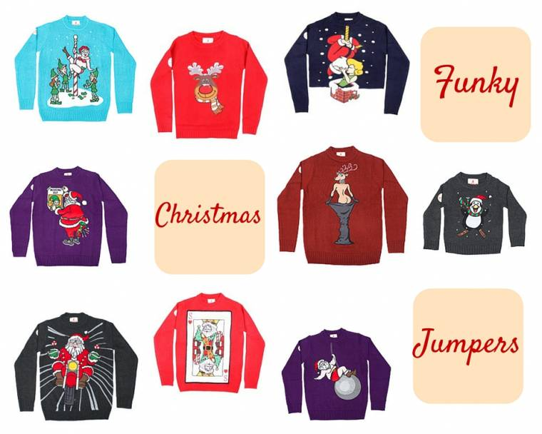 Funky Christmas Jumpers: Novelty Christmas Jumpers