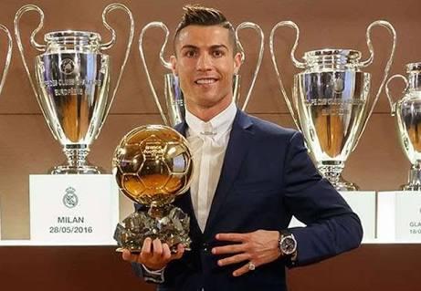 Cristiano Ronaldo Won 2016 Ballon D'or