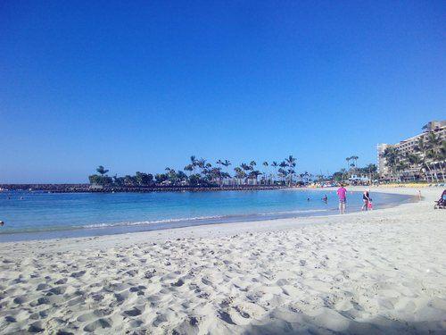 Canarie spiaggia bianca