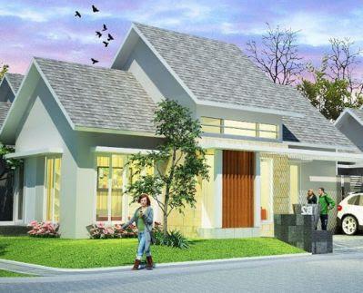 contoh gambar atap rumah type 36