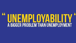 unemployabity a greater problem than unemployment