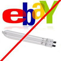 eBay UV Bulb, Cold Cathode