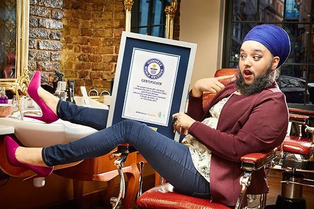 Guinness World Records: Check Out the Youngest Woman With Beard (Photos) 1