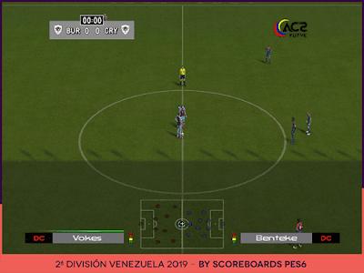 PES 6 Scoreboards Venezuelan Segunda División 2019 by Scoreboards PES 6