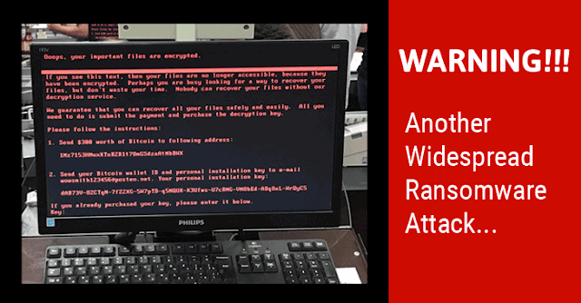 WARNING !!! Another Widespread Ransomware ATTACK ... — Steemit